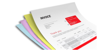 Invoice Sets, Pads & Books