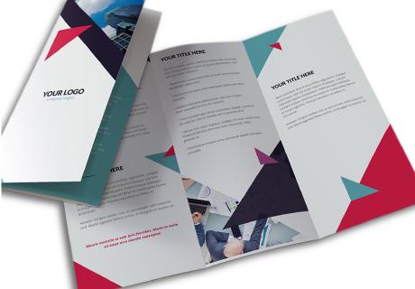 Folded Leaflets A5 4pp Half Fold